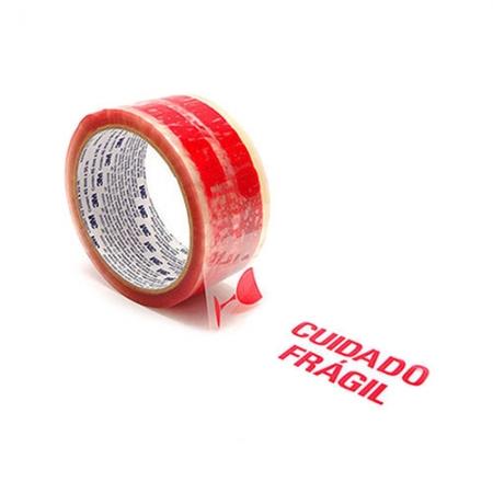 Fita de Empacotamento Pré impressa Cuidado Frágil 3M