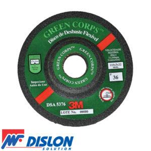 Disco de Desbaste Green Corps 3M
