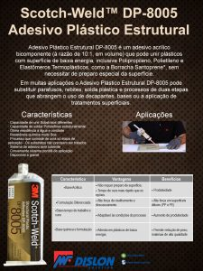 scotch-weld - DP 8005 - adesivo plástico estrutural