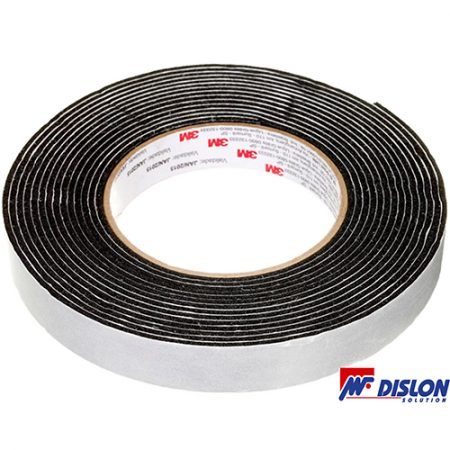 Fita Veda Fresta Preto 19mm x 5m Scotch 3M